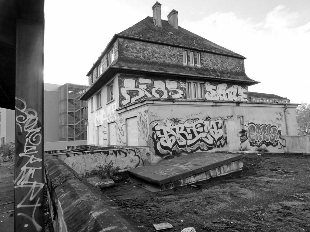 Lost Places in Frankfurt - Der Ostbahnhof