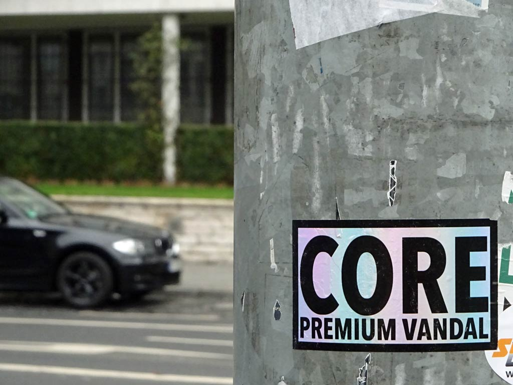 Frankfurt Sticker - Core