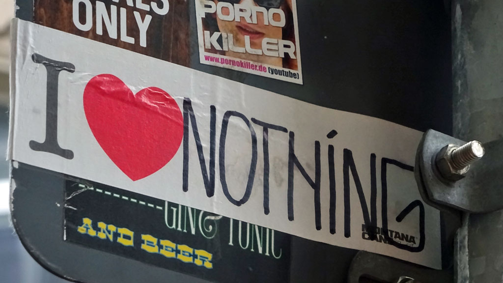Frankfurt Sticker - I love nothing