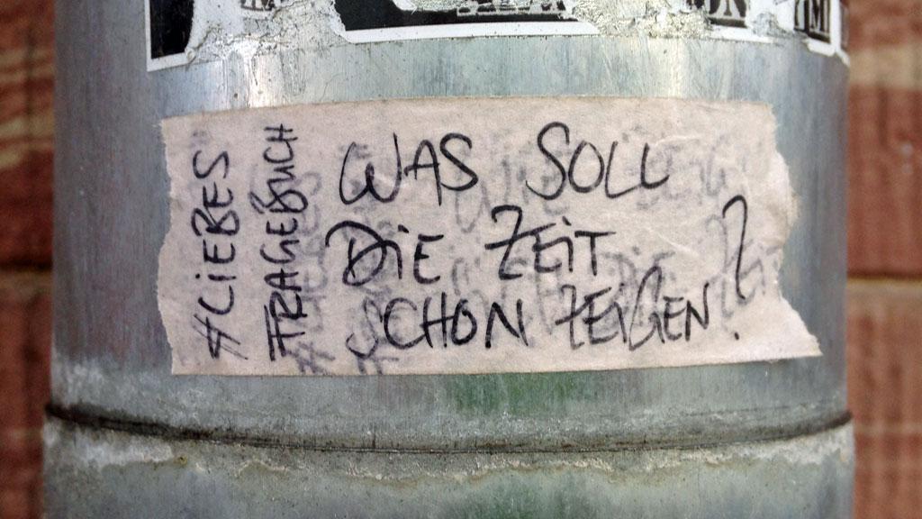 Frankfurt Sticker - #Liebesfragebuch