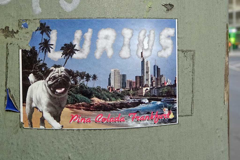 Frankfurt Sticker - Pina Colada Frankfurt