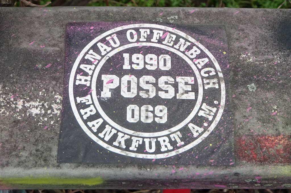 Frankfurt Sticker - 1990 Posse 069