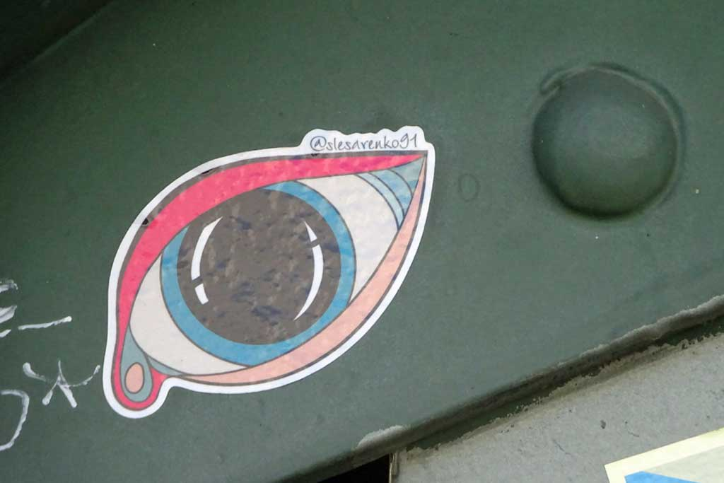 Frankfurt Sticker - Slesarenko 91