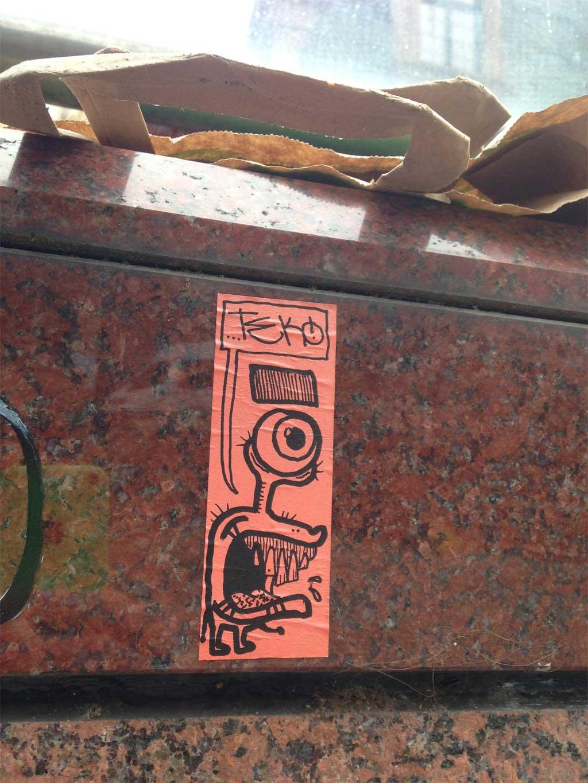 Frankfurt Sticker - TEK