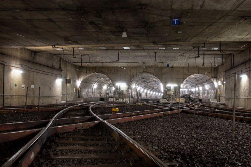 Tunnelbegehung in Frankfurt am Main, von Hauptwache bis Südbahnhof