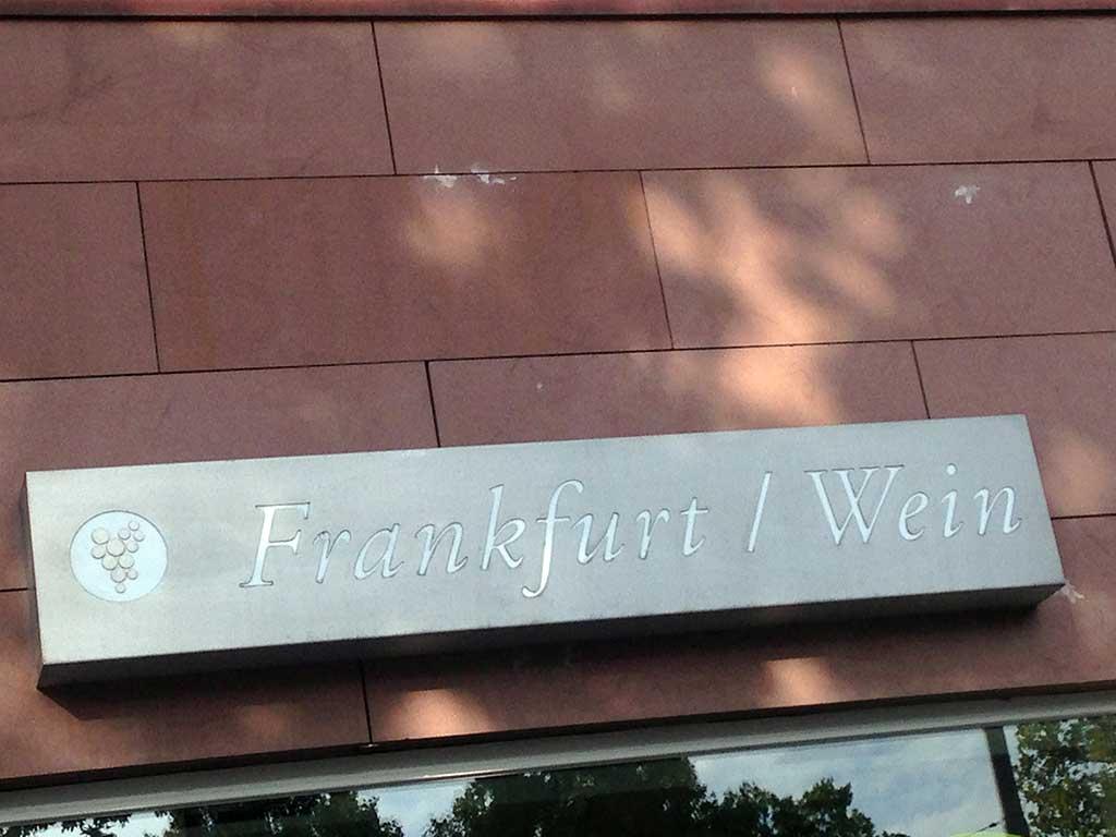 Frankfurt / Wein