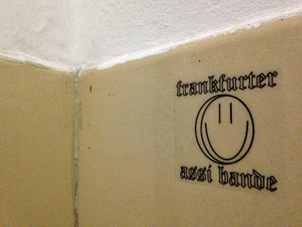 Frankfurter Assi Bande-Aufkleber