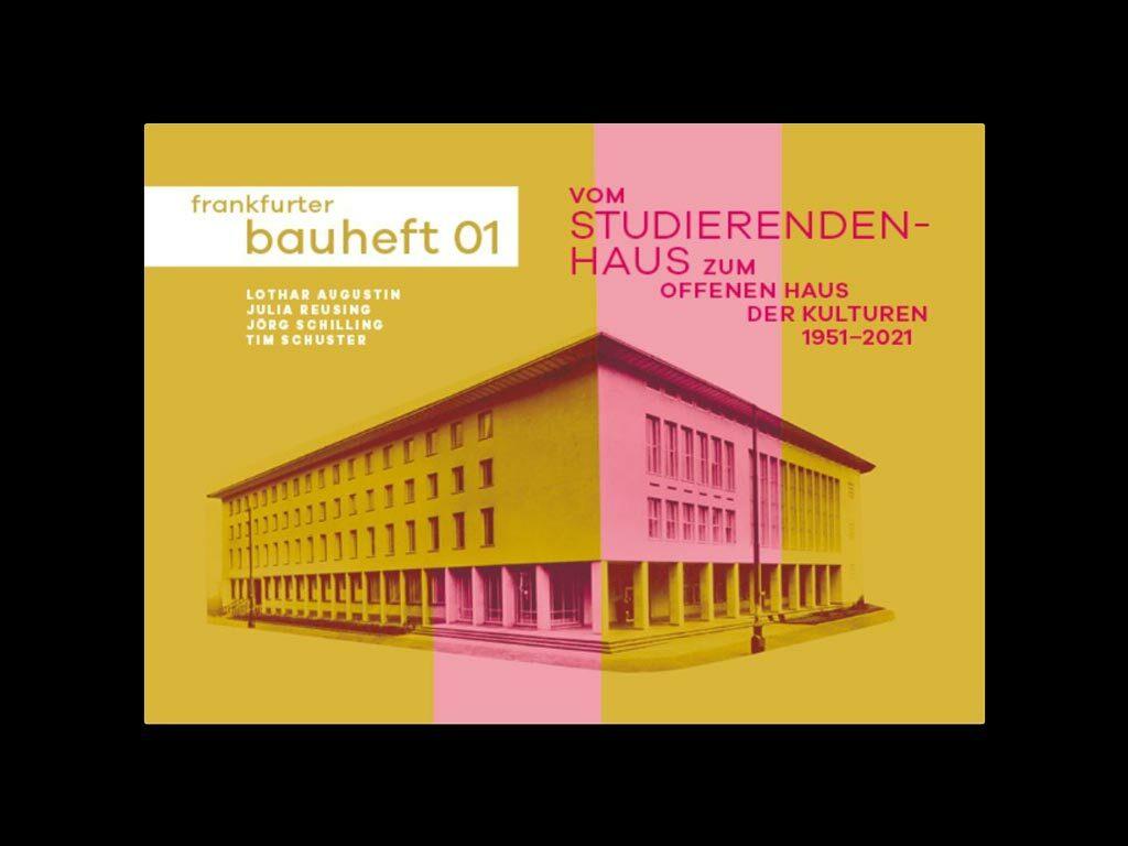 frankfurter bauheft 01 - Studierendenhaus