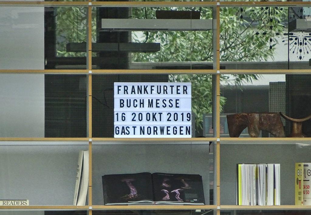 Frankfurter Buchmesse vom 16. bis 20. Oktober 2019