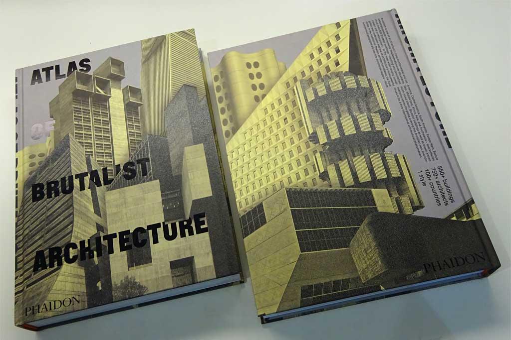 Fotos von der Frankfurter Buchmesse 2018 - Atlas of Brutalist Architecture