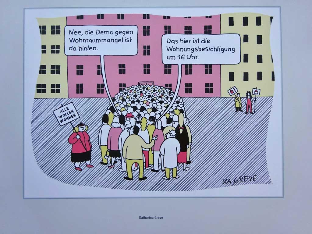 Fotos von der Frankfurter Buchmesse 2018 - Deutscher Cartoon Preis 2018