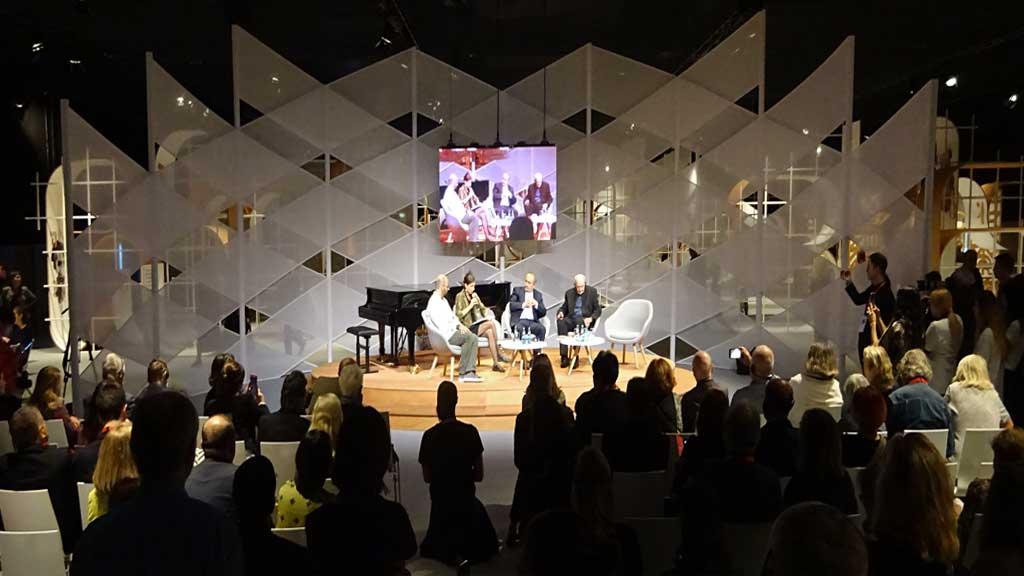 Fotos von der Frankfurter Buchmesse 2018 - Ehrengast Georgien