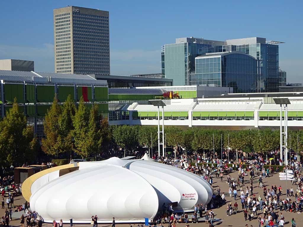 Fotos von der Frankfurter Buchmesse 2018 - Frankfurt Pavilion