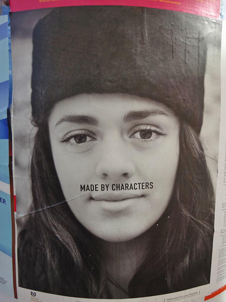 Platz 1 im Plakatwettbewerb für junge Gestalter 2018