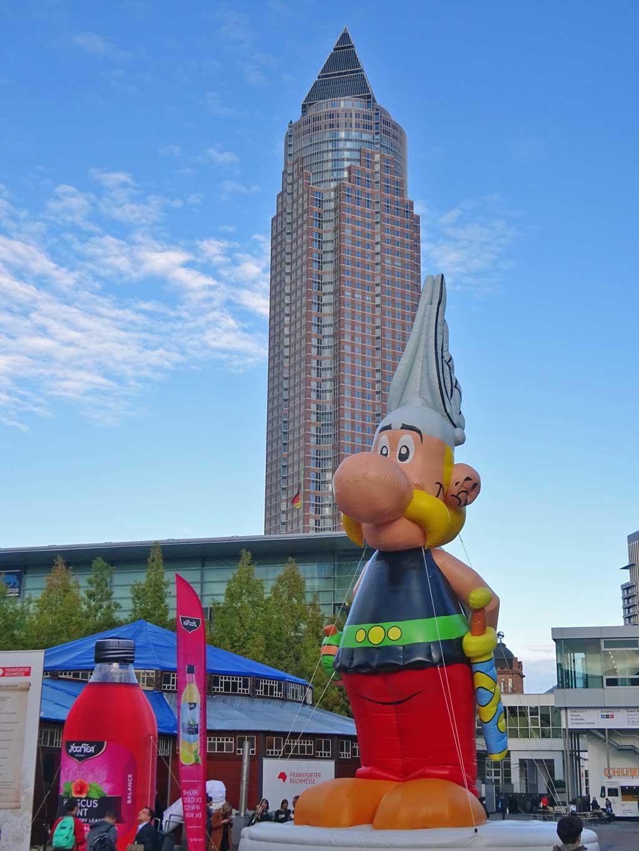 Frankfurter Buchmesse 2019 - Asterix steht stramm