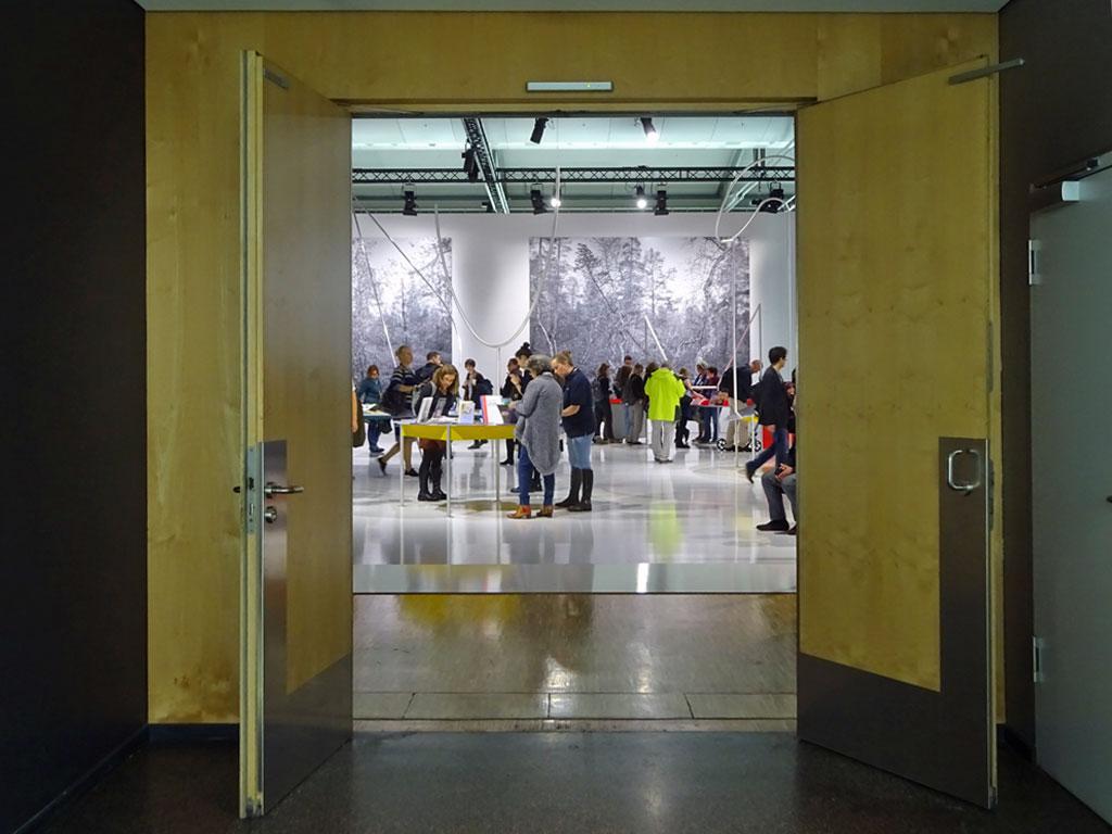 Frankfurter Buchmesse 2019 - Blick in die Ehrengast Norwegen Präsentation