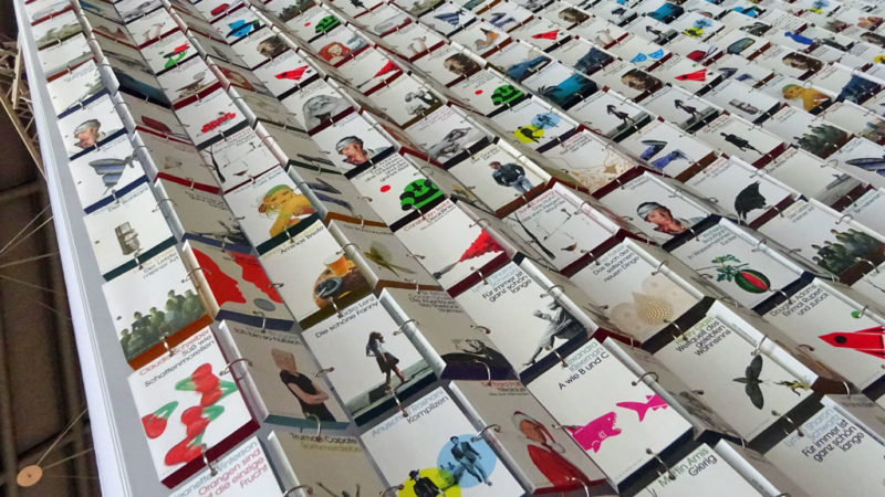 Frankfurter Buchmesse 2019 - Bücherwand