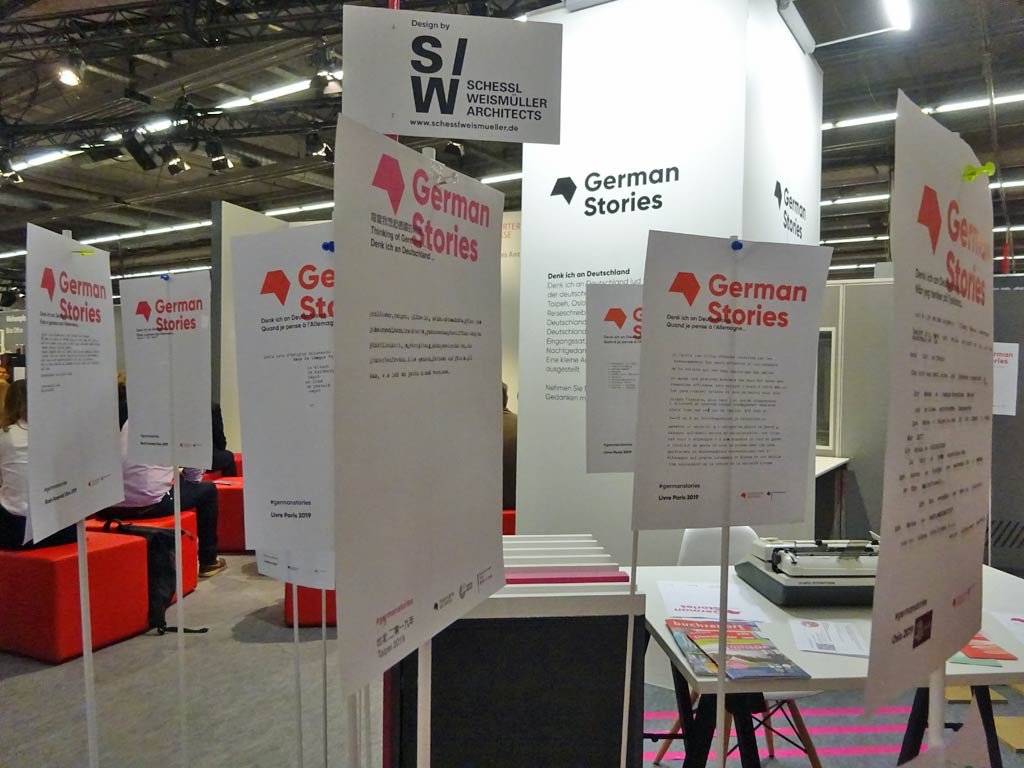 Frankfurter Buchmesse 2019 - German Stories