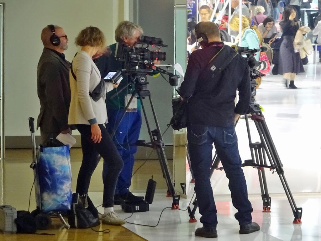 Frankfurter Buchmesse 2019 - Medien im Ehrengast Pavillon