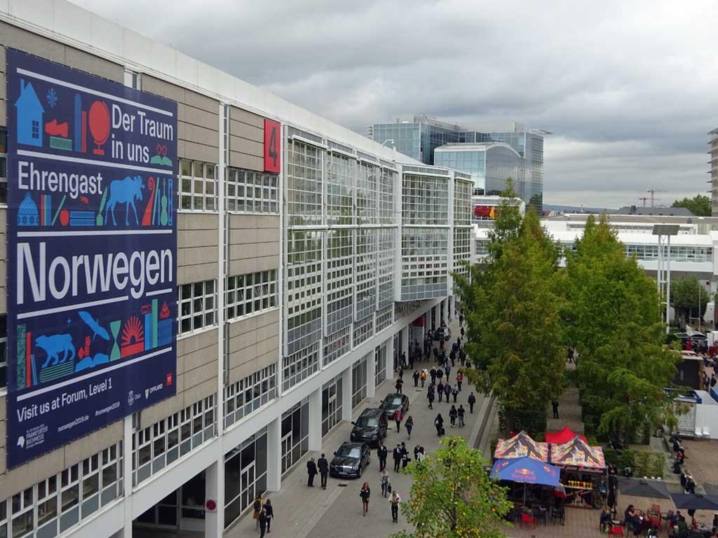 Frankfurter Buchmesse 2019 - Eherengast Norwegen Plakat