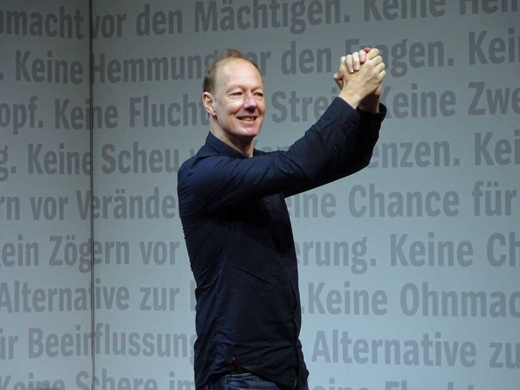Frankfurter Buchmesse 2019 - Martin Sonnenborn beim Spiegel