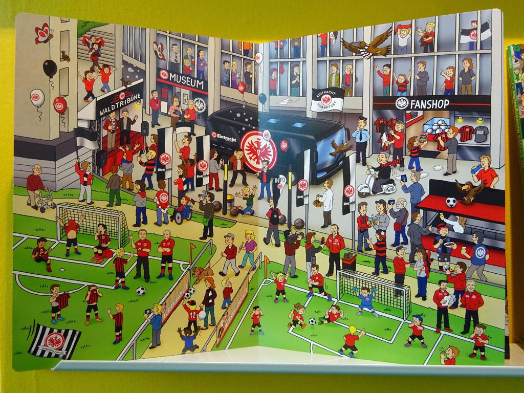 Frankfurter Buchmesse 2019 - Wimmelbild Eintracht Frankfurt