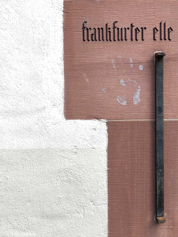 Stadtbilder Frankfurt - Frankfurter Elle in der Frankfurter Altstadt