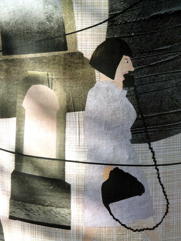 Frankfurter KunstSäule - Ljuba Stille - Die Telefongesellschaft