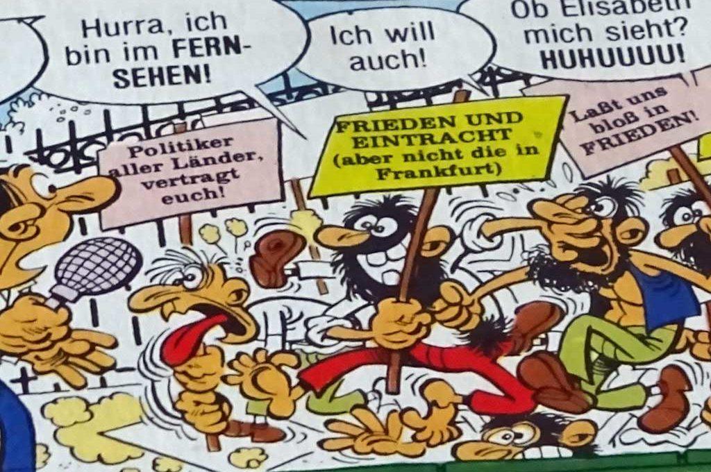 Eintracht Frankfurt im Clever & Smart-Comicband