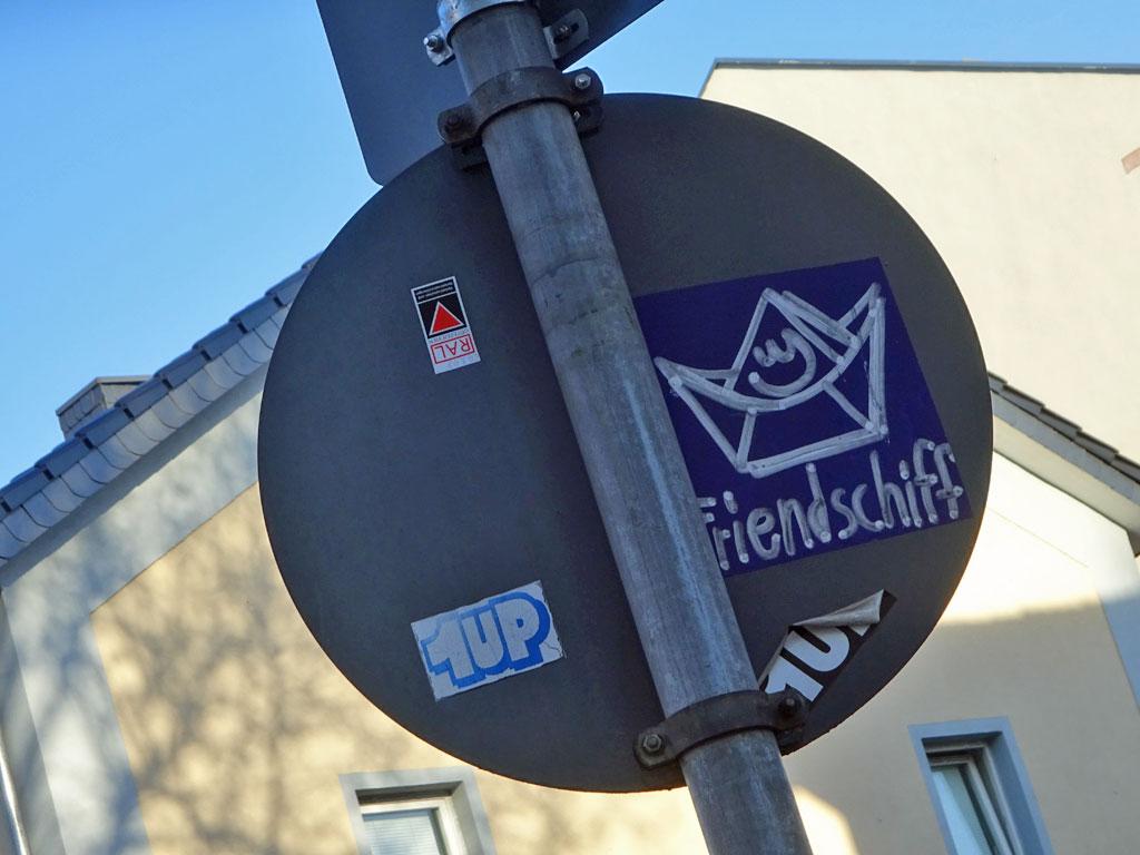 Friendschiff-Aufkleber in Offenbach