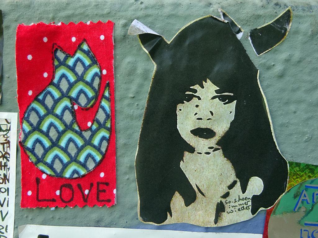Sticker-Art rund um den Brückenkopf Mainz-Kastel