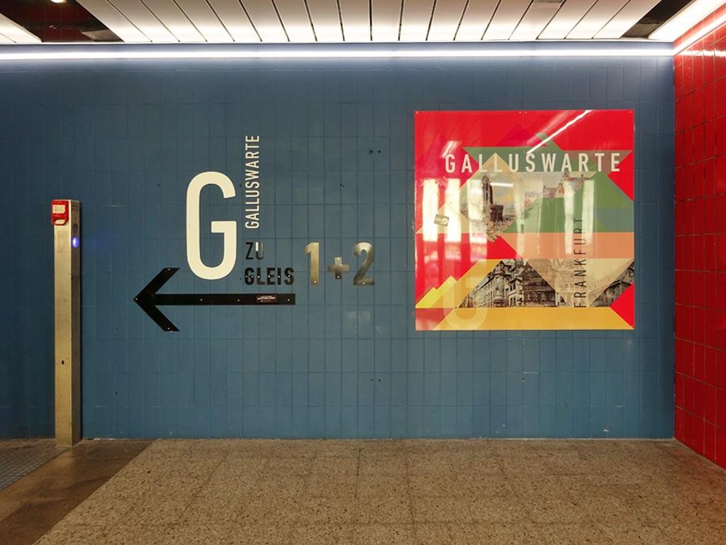 Galluswarte - Gestaltung des Zugangs zu den Gleisen