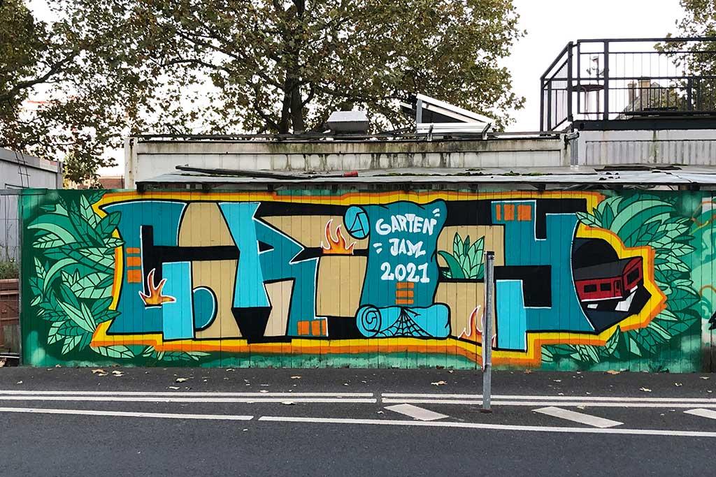 Garten Jam 2021 in Frankfurt am Main