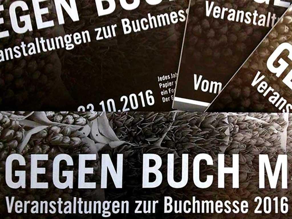 GegenBuchMasse - Veranstaltungen zur Buchmesse