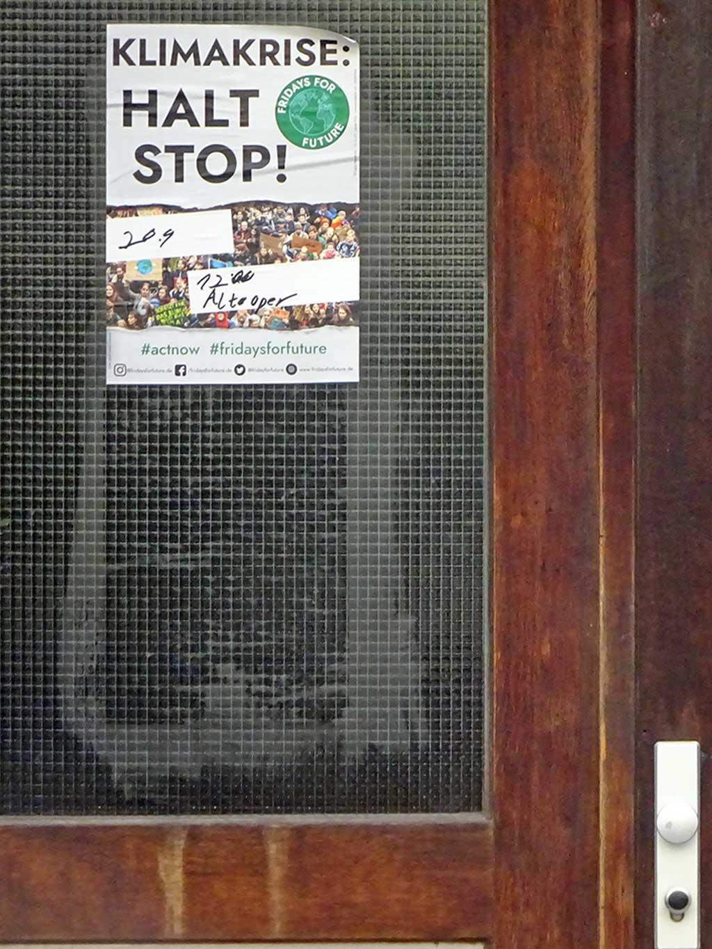 Klimakrise: Halt Stop! #actnow