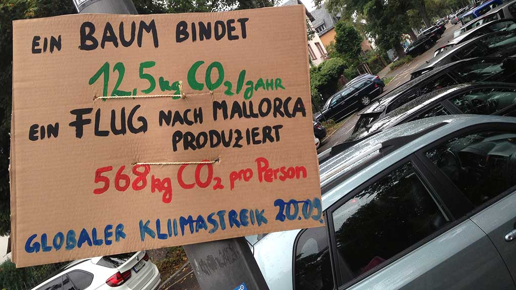 Globaler Klimastreik in Frankfurt 20.09.