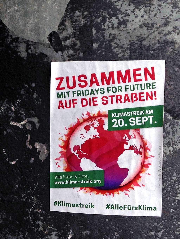 Klimastreik am 20.09. - Mit Fridays For Future auf die Straßen