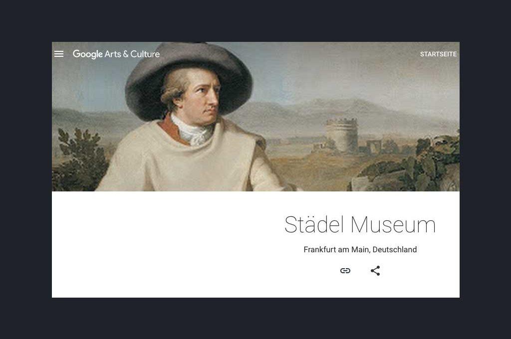Städel Museum bei Google Arts & Culture