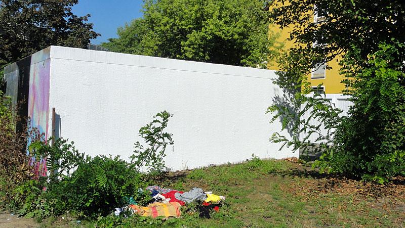 Fotos von Graffitientfernungen