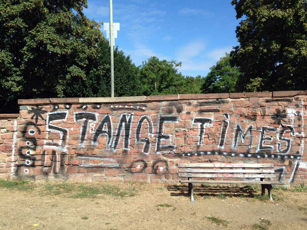 Fehlerkorrektur bei Graffiti