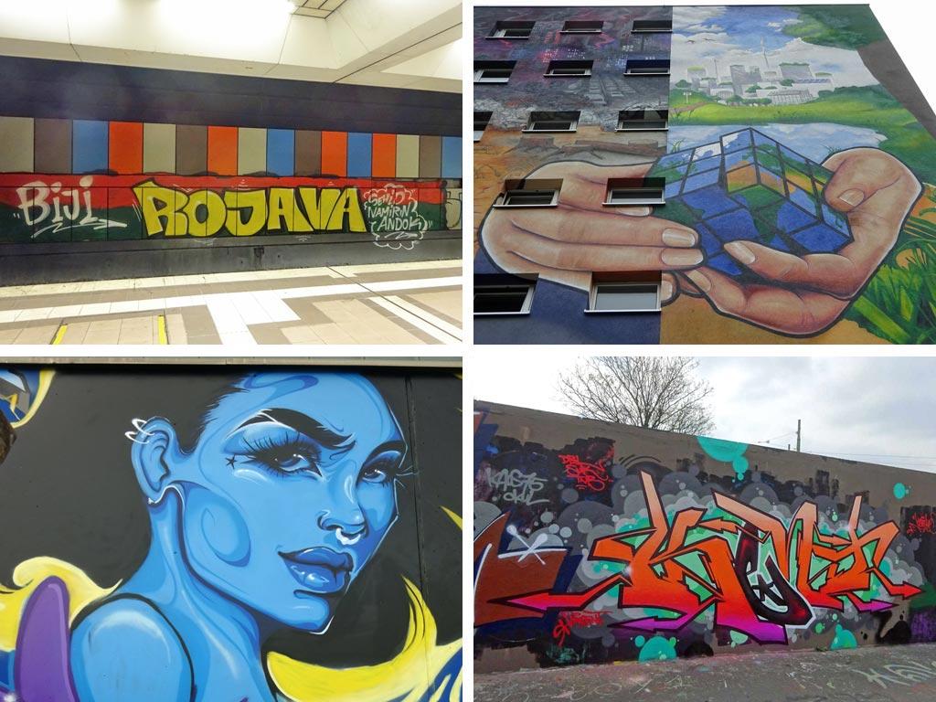 Graffiti-Videos Frankfurt 2019