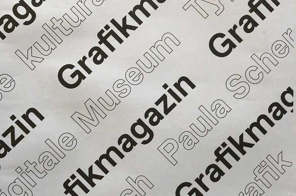 Die erste Ausgabe von GRAFIKMAGAZIN ist erschienen