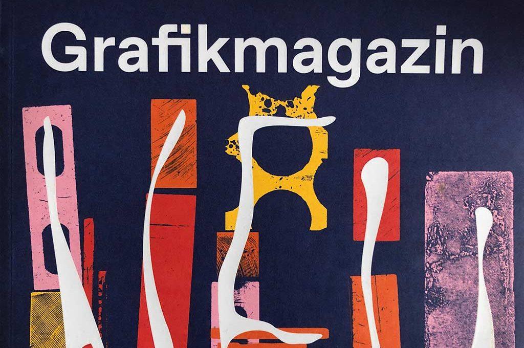 Obere Hälfte der Titelseite vom Grafikmagazin