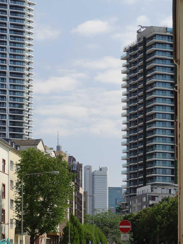 Grand Tower und Eden Tower in Frankfurt