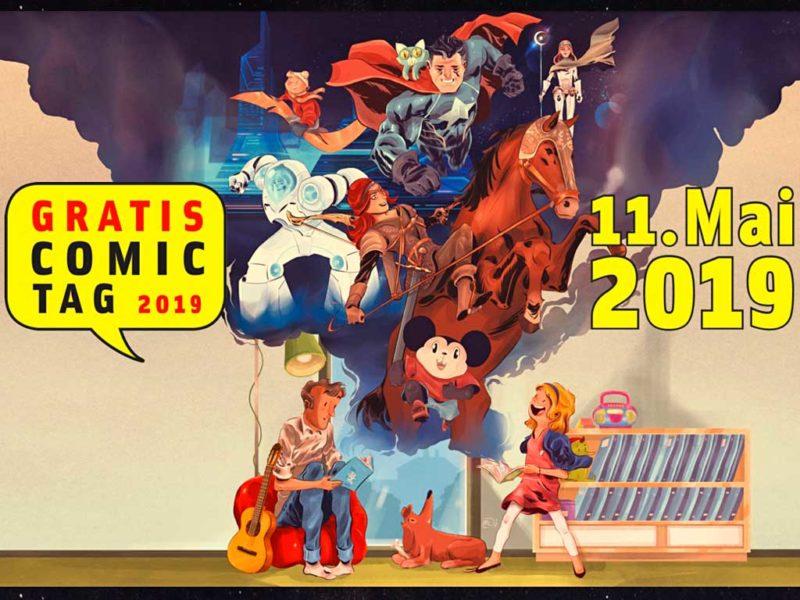 Gratis Comic Tag am 11. Mai 2019