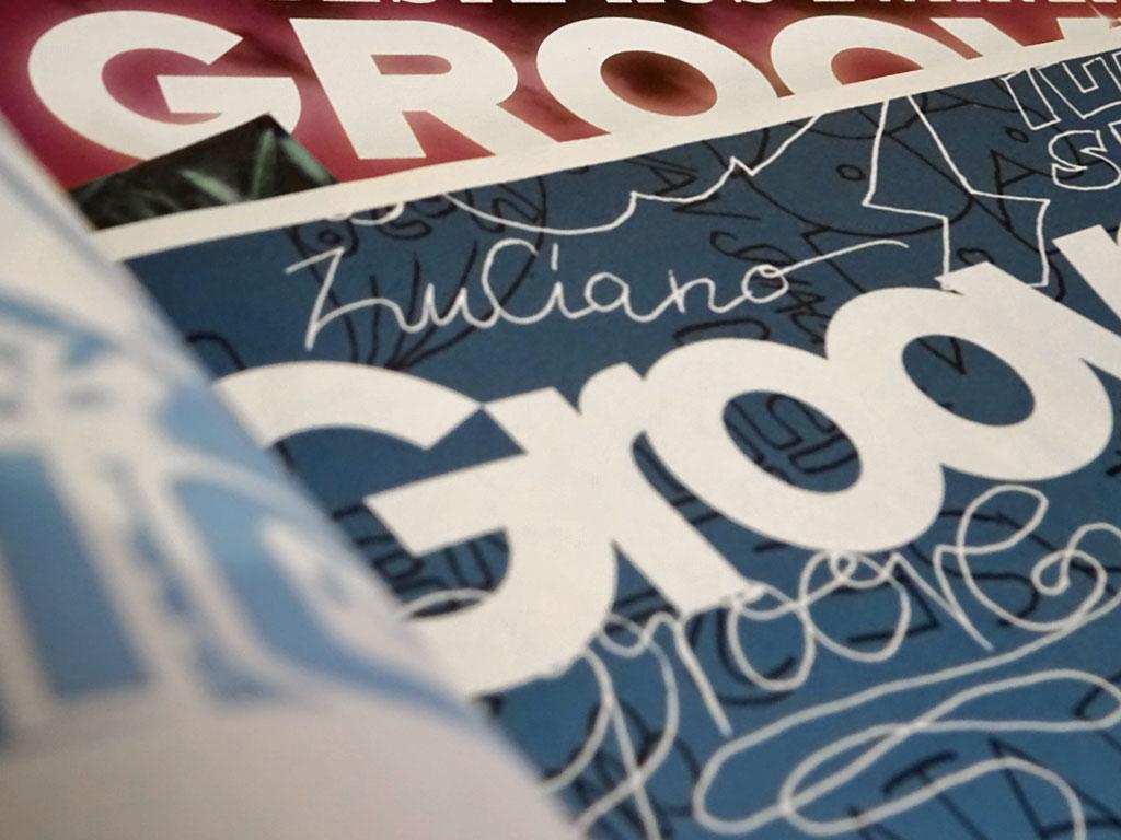 Printausgaben des GROOVE-Magazins