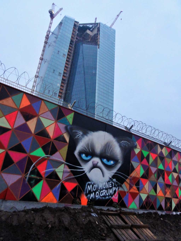 Grumpy Cat Wall - Mo Money Mo Grumpy