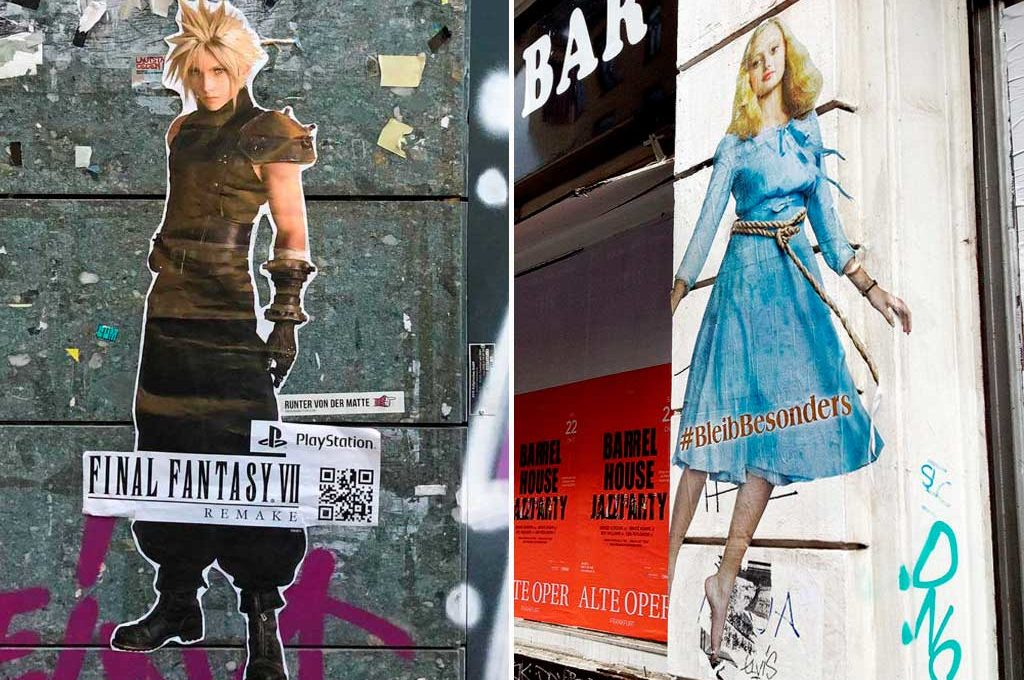 Guerilla marketing in Frankfurt am Main