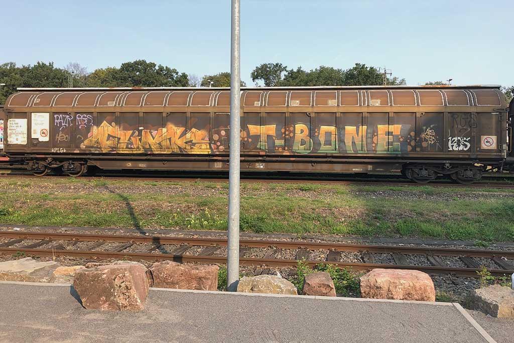 Güterzüge-Graffiti