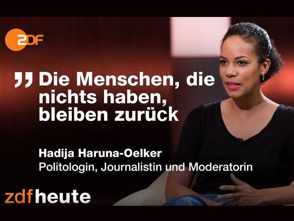 Hadija Haruna Oelker zu Gast bei Dunya Hayali